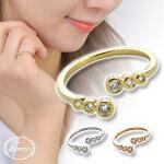 【メール便送料無料】ピンキーリングリング指輪キュービックジルコニア巻き付きデザインLuxury's上品重ねづけ