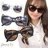 ■ Cat ear frame sunglasses | cute ladies cute summer tasty gifts women gadgets Paris kids girly Hara-Juku system favors uv cut UVA/UVB protection
