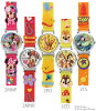 Disney Disney character watches rubber watches Mickey Minnie Donald