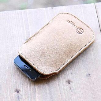 FE36 iPhone6 加号启用智能手机案例 ◆ ◆ 皮革厚度是 4 毫米保护和 iPhone 液晶屏幕 ! [在日本皮革车间帕制造商直接] 芬兰麋鹿皮革