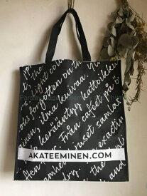 Akateeminen Kirjakauppa ショッピングバッグ フィンランド アカデミア書店 本屋