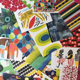 marimekko ポストカード 3枚×3セット〚9枚セット〛 (柄選択不可)マリメッコ メッセージカード