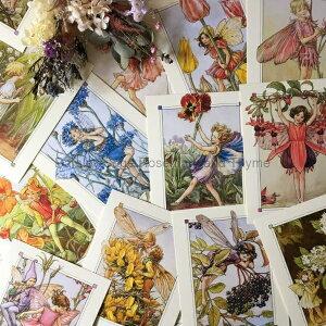 Flower Fairy ポストカード 2枚セット(柄選択不可)マCicely Mary Barker フラワーフェアリー 花 妖精 メッセージカード