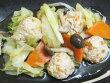 キャベツと鶏団子のこっくり煮