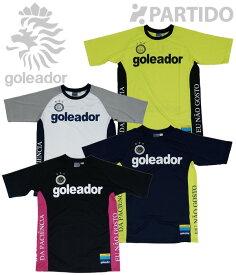 ゴレアドール goleador (G-1842) サイド切替メッセージプラクティスシャツ フットサルウェア