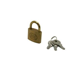株式会社ハイロジック GY009 シリンダー南京錠 35mm 鍵番号指定同一キー 3本キー 1個入