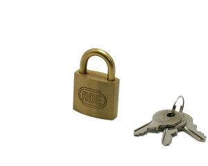 株式会社ハイロジック GY038 シリンダー南京錠 30mm 鍵番号指定同一キー 3本キー 1個入