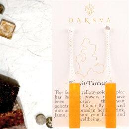 ピアス【OAKSVA】かわいいゆれるピアスネコポス発送005インドネシア発ボタニカルピアスハンドメイドアクセサリー