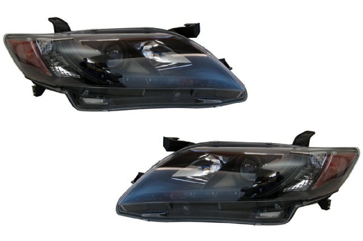 トヨタ カムリ  ヘッド DRLスタイル プロジェクター ヘッドライト ブラック ACV40/45 カムリ