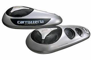 carrozzeria 密閉式 4ウェイスピーカーシステム TS-X480G