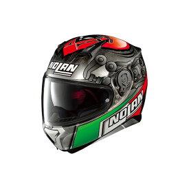 デイトナ NOLAN(ノーラン)ヘルメット N87 ジェミニレプリカ [メランドリ スクラッチドクローム/63 XLサイズ] 98361