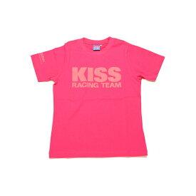 キジマ KISS Racing Team Tシャツ [ピンク/レディースS] K1345P04