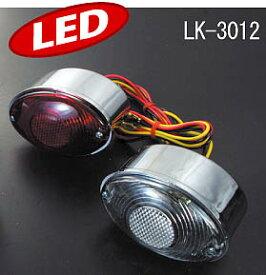 ラフ&ロード LUKE LEDテールランプ ミニキャッツアイ[レッド] LK-3012RD