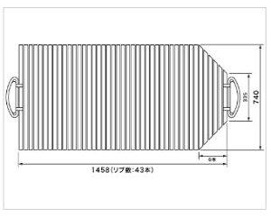 パナソニック Panasonic 風呂ふた 1600浴槽巻ふたハンガータイプ(フック無) KAD-YF31CMTC