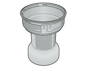 パナソニック Panasonic 掃除機 メッシュフィルター(ネットフィルター)(レッド用) AMV0VK-CT0L