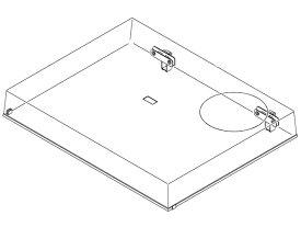 パナソニック Panasonic ターンテーブル用ダストカバーユニット RYF1035-Q2(旧品番RYF1035-Q1)