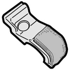 シャープ SHARP 掃除機用ブラシカバー(右) 2171102421★