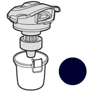 シャープ SHARP 掃除機用ダストカップセット ブラック系 2171370375★