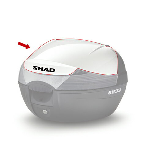 SHAD(シャッド) SH33 2017新モデル(D0B33200)専用カラーパネル ホワイト メーカー品番:D1B33E208 1枚【あす楽対応】