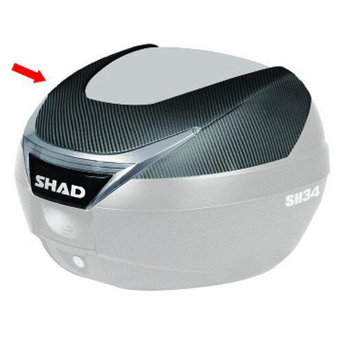 SHAD(シャッド) SH34(D0B34100)専用カラーパネル カーボン メーカー品番:D1B34E06 1枚【あす楽対応】