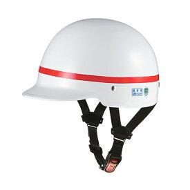 取寄 SN-6 SN-6 スクールヘルメット ホワイト/レッドライン OGK(オージーケーカブト) 1個