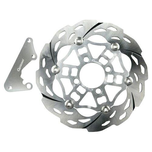在庫処分 【送料無料】Optimum(オプティマム) 260型ディスクローター シルバー PCX125 メーカー品番:OP11223 1枚【あす楽対応】