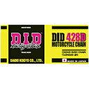 DID(大同工業) 428HD-80L 強化 スチール チェーン DID428HD-80 1本