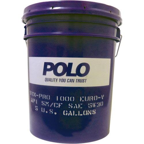 【送料無料】POLO SYN-PRO1000 EURO-V SM/CF 5W-30 メーカー品番:AE18EV 1缶(18.9L)【あす楽対応】
