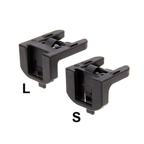 CATEYE 39800060 SR-2ブラケット S/Lセット ブラック メーカー品番:SR-2 1セット(2個入)