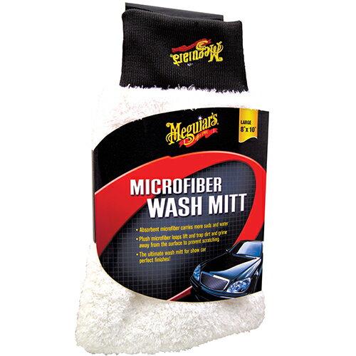 洗車スポンジ X3002EU マイクロファイバーウォッシュミット Meguiar's(マグアイアーズ)