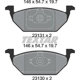 2313081 2313081 ブレーキパッド Textar 1セット(4枚入)