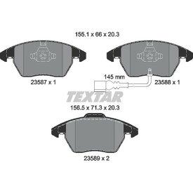 2358781 2358781 ブレーキパッド Textar 1セット(4枚入)