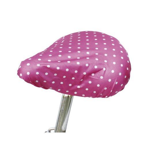 MARUTO 簡単雨よけサドルカバー 水玉ピンク 620 1枚