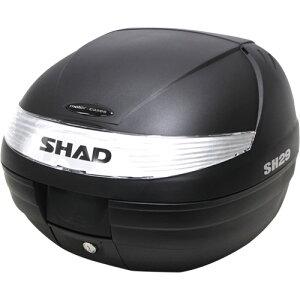 SHAD(シャッド) バイク トップケース・リアボックス SH29 トップケース 無塗装ブラック D0B29100 汎用