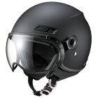 【10/25限定★ポイント最大23倍】マルシン バイク ジェットヘルメット ジェットヘルメット MS-340 マットブラック L 3403L