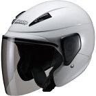 【10/25限定★ポイント最大23倍】マルシン バイク ジェットヘルメット セミジェットヘルメット M-520 XL ホワイト 00005211