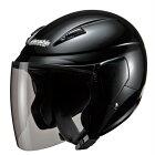 【10/25限定★ポイント最大23倍】マルシン バイク ジェットヘルメット セミジェットヘルメット M-520 フリー ブラックメタリック 00005203