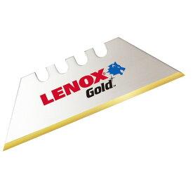 取寄 20351GOLD50D ナイフ用 チタンコートブレード 20351GOLD50D LENOX(レノックス) 1パック(50枚入)