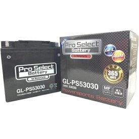 【ポイント最大38.5倍!お買い物マラソン 5/9 20時〜5/16 2時迄】Pro Select Battery (プロセレクトバッテリー) GL-PS53030 【53030 Y60N24AL-B互換】 BMW対応 液入充電済MFジェルバッテリー 安心信頼業界最長2年保証付き 長持ち バイクバッテリー