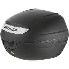 D0B26100 SH26 トップケース 無塗装ブラック SHAD(シャッド) 無塗装ブラック 1個