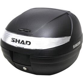 SH29 トップケース 無塗装ブラック SHAD(シャッド) 無塗装ブラック 1個