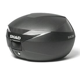 D0B39100 SH39 トップケース 無塗装ブラック SHAD(シャッド) 無塗装ブラック 1個
