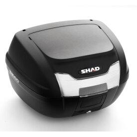 バイク トップケース リアボックス 40L ちょっと大きめサイズ SH40 無塗装ブラック SHAD(シャッド) 1個 通勤 通学 防水性を考慮した設計 GIVI、KAPPAを検討中の方にもおすすめ