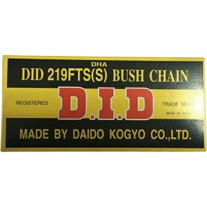 【エントリーでポイント最大26倍!(10月25日限定)】取寄 DID219FTS(S)DHA-100L 219-100L FTS(S)DHA 強力カムチェーン DID(大同工業) スチール 1本