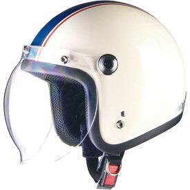 【エントリーでポイント最大26倍!(10月25日限定)】ジェットタイプ BC-10 BARTON BC-10 ジェットヘルメット アイボリー×ネイビー リード工業(LEAD) アイボリー/ネイビー 1個