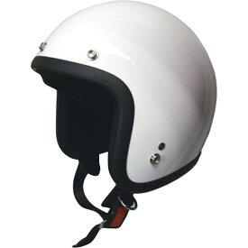 【エントリーでポイント最大26倍!(10月20日限定)】ジェットタイプ スモールジェットヘルメット ホワイト モトボワットBB ホワイト 1個