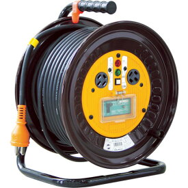 取寄 ND-EB330-20A 電工ドラム 三相200Vドラム アース漏電遮断器付 30m 日動工業 1台