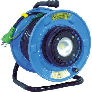 【エントリーでポイント最大26倍!(10月25日限定)】取寄 SDW-E22-10W 防雨・防塵型LEDライトリール 日動工業 1台