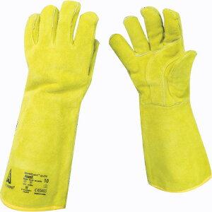 【エントリーでポイント最大26倍!(10月20日限定)】取寄 43-216-10 溶接用手袋 ワークガード 43ー216 XLサイズ アンセル 1双