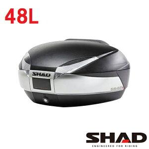 D0B48400SH48トップケースチタニウムSHAD(シャッド)チタニウム・ブラック1個